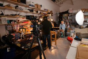 Taking over Don Taylor's workshop for the Sigma Artisan series