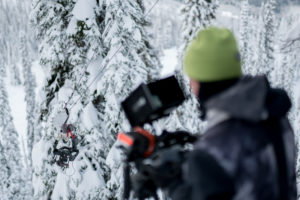 RED Epic Dragon, Sigma 18-35mm f1.8 Art and DJI Ronin riding the cablecam in the B.C. backcountry.