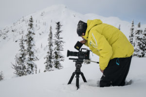 Brandon Kelly and the Sigma 18-35mm f1.8 Art in the B.C. backcountry.