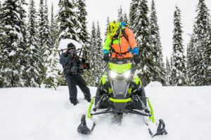 Sled detail shots on the new Arctic Cat M8000