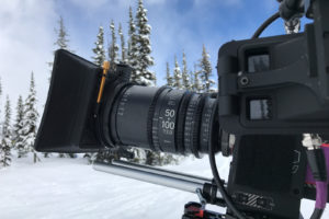 The Sigma 50-100mm T2 CINE on the Red Epic-W