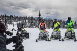 Rider details on the new Arctic Cat M8000 sleds and the Sigma 50-100mm T2 CINE